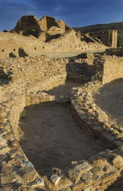 Pueblo del Arryos, Chaco Culture National Historic Park, New Mexico, USA
