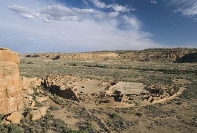 Pueblo Bonito, Chaco Culture National Historic Park, New Mexico, USA