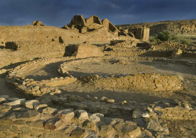Pueblo del Arryos, Chaco Culture National Historic Park, New Mexico, USA
