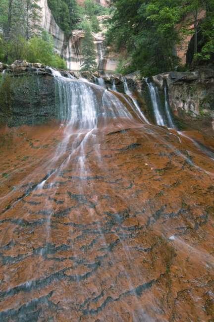 Waterfall, Zion National Park, Utah, USA