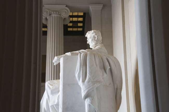 Abraham Lincoln Memorial, National Mall National Park, Washington D.C., USA