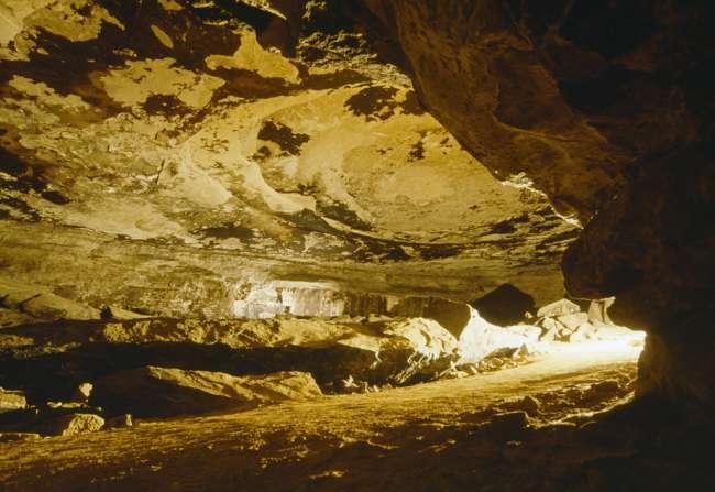 Wright's Rotunda, Mammoth Cave, Mammoth Cave National Park, Kentucky, KY, USA