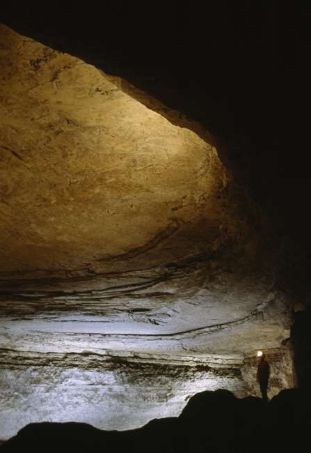 Rotunda Room, Mammoth Cave, Mammoth Cave National Park, Kentucky, KY, USA