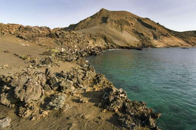 Volcanic island of Bartolome, Galapagos National Park, Ecuador