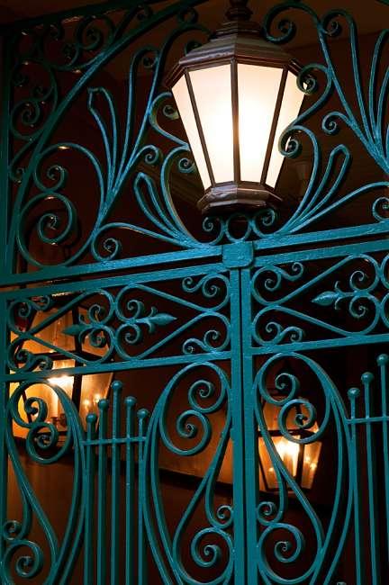 Charleston, South Carolina, USA.  Street lamps on the streets of Charleston.